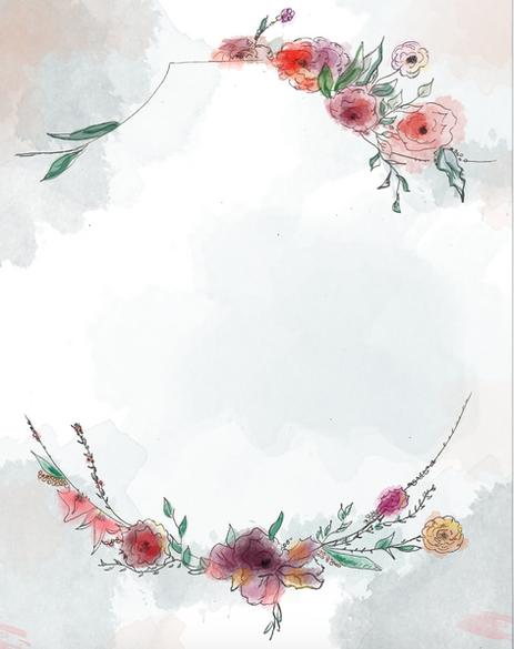 Invitation Watercolor Design