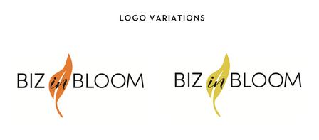 Biz in Bloom alternative logo