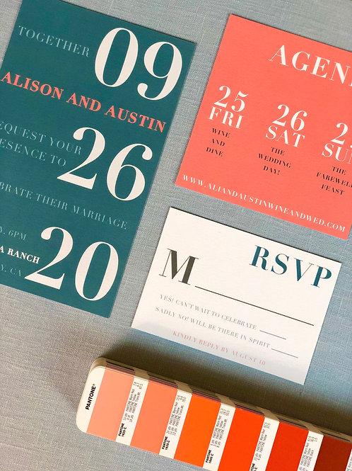 Alison Collection- 7 Piece Set