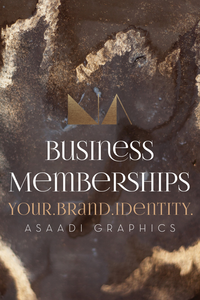 Business Membership Program | With the 3 month program, we work closely with entrepreneurs to give them support with our design solutions. The goal is to ensure cohesion and accurately reflect your business.