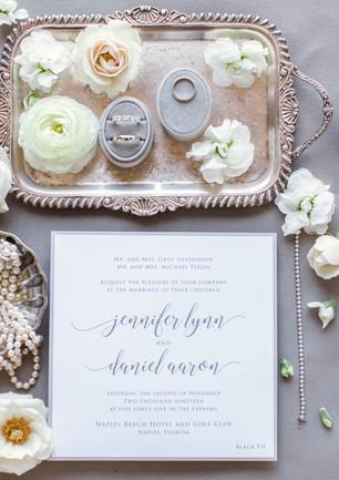 Naples Wedding Invitation Suite