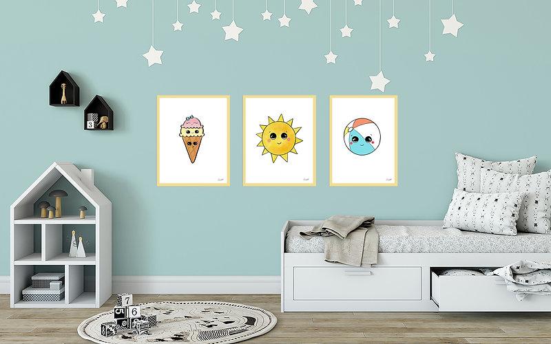 Lala By Nee Nursery Art