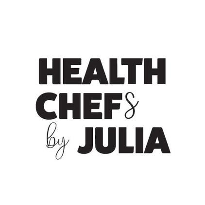 Health Chefs by Julia Custom Logo Design