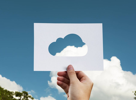 Having your head in the clouds might just save your business.