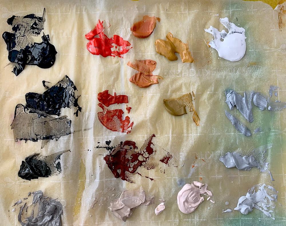 Sta-Wet Palette Paint Puddles