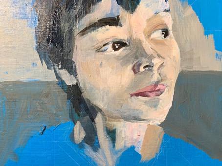 Using Acrylics Like Oils for Portraits