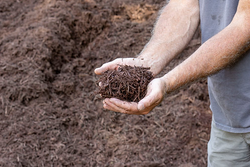 Chocolate Brown Dyed Mulch