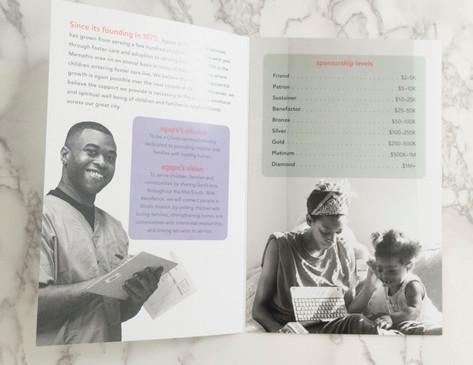 Agape Campaign Brochure