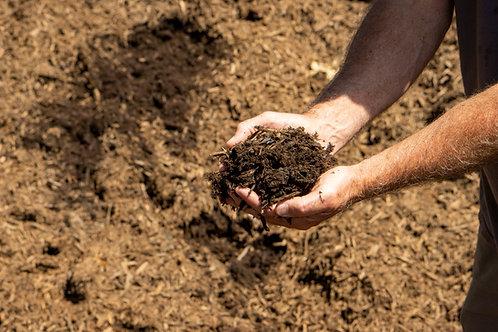 Natural Brown Mulch