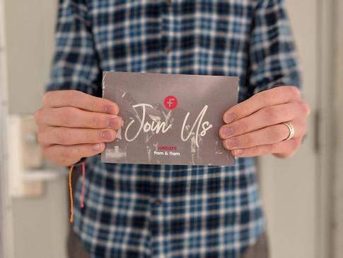 Join Us Postcard