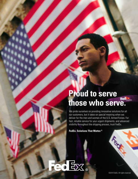 Proud to Serve Ad