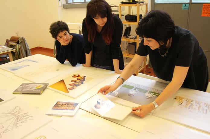 Formazione illustratori selezionati