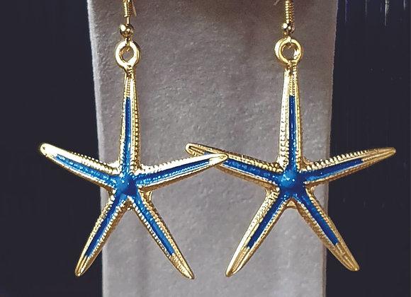 SEA STAR EARRING IN BLUE SKY