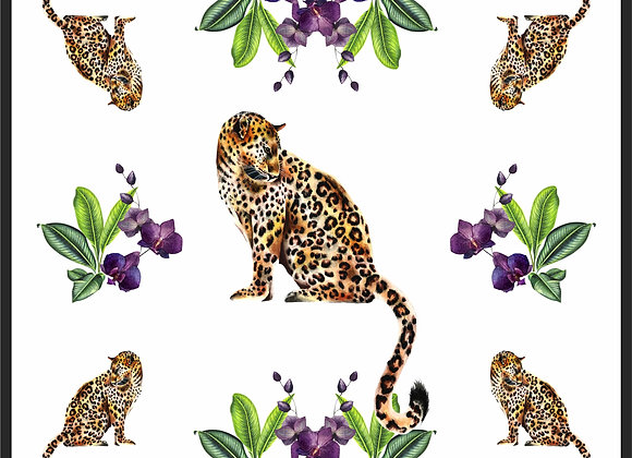 LEOPARD PURPLE ORCHID 90'