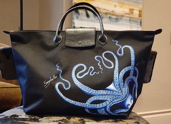 BLUE OCTOPUS TRAVEL BAG