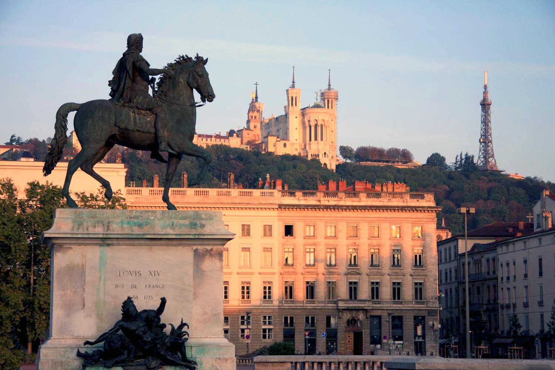 Visite : Lyon (11 étapes)