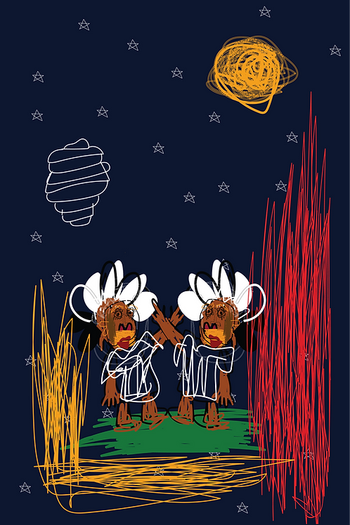 Ibeji and the Moon