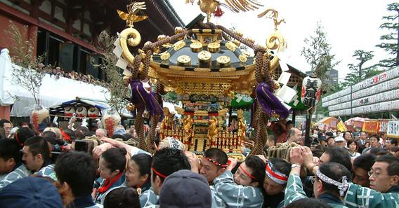 Monkey Mikoshi Portable Shrine