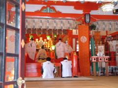 Shrine Ceremony