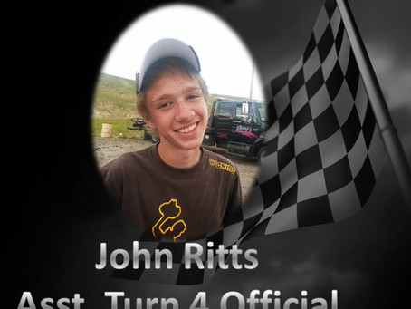 John Ritts to serve as Assistant Turn 4 Official in 2015