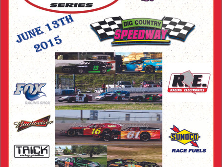 June 13th- Race Day- PMG Grand American Modified Super Series