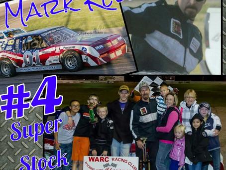 Driver In The Spotlight- Mark Kelly #4- Super Stock
