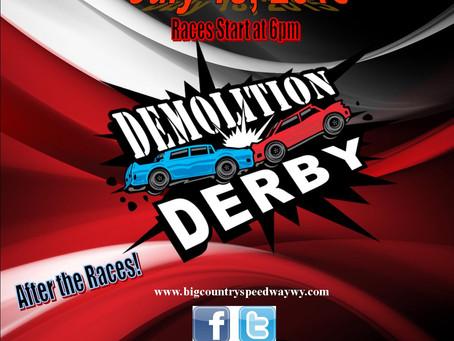 BCS Demo Derby- July 18th 2015