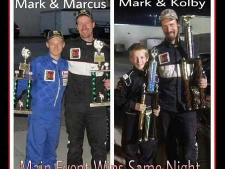 Father/Son Wins at Big Country Speedway