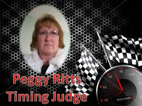 Peggy Ritts- 2015 Timing Judge