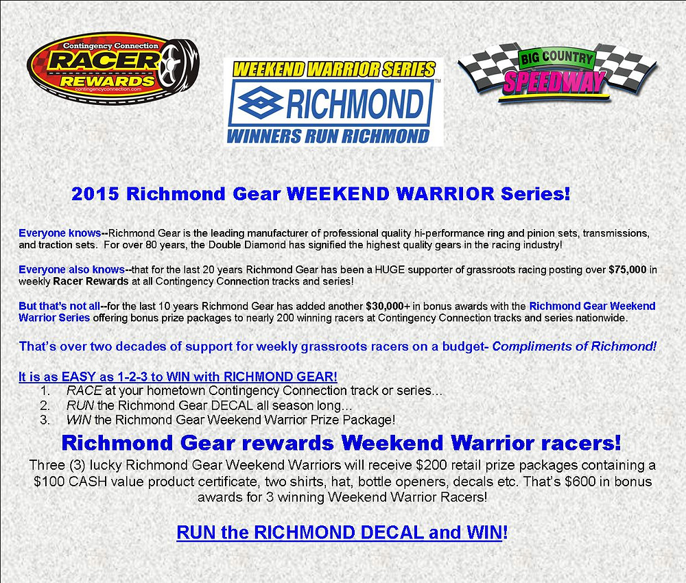 Richmond Gear Weeekend Warrior graphic for FB and web.jpg