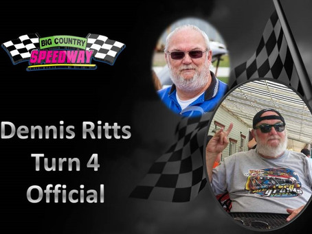Announcing Dennis Ritts- Official- Turn 4 for 2015 Season