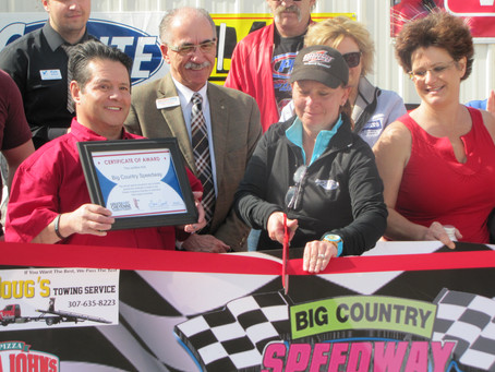 Ribbon Cutting at Big Country Speedway