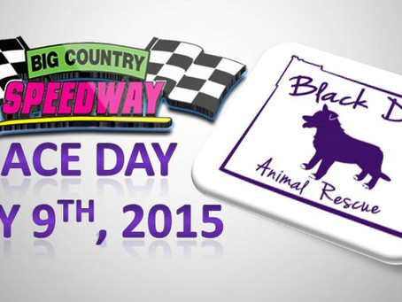 Race Day- Special Guest Black Dog Animal Rescue