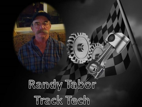 Announcing Randy Tabor as Track Tech