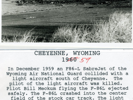 1959 Plane Crash at Intermountain Speedway