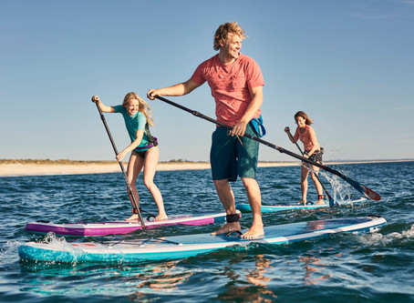 Basic - How to Stand Up on Your SUP