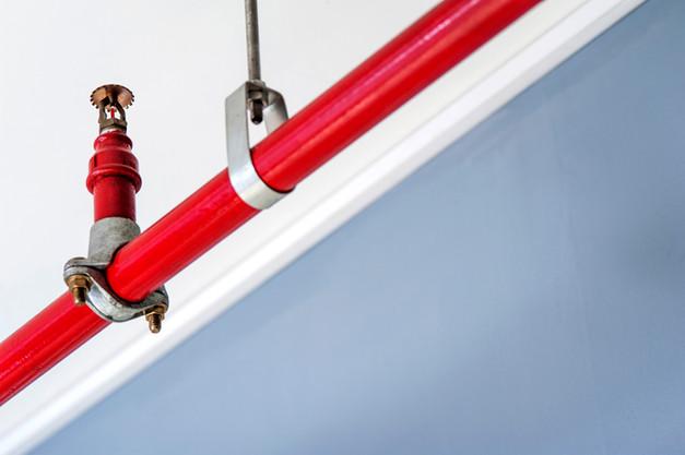 Instalações de incêndio - Sprinklers