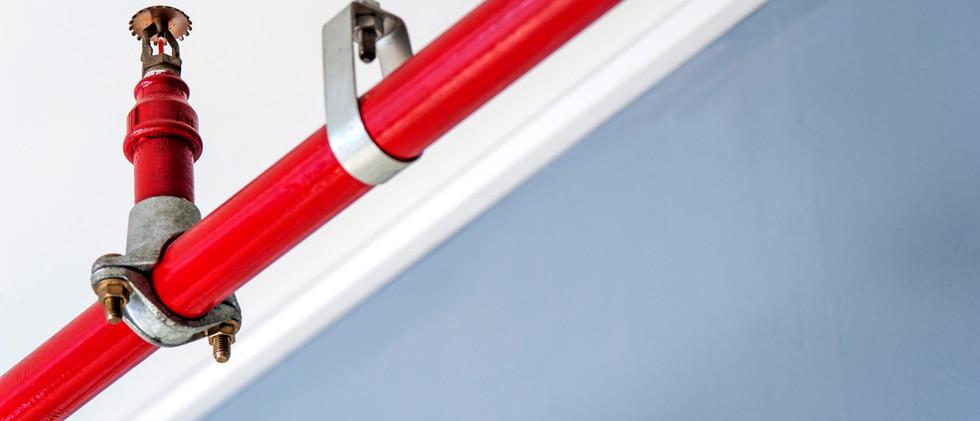 צינור אדום ספרינקלר