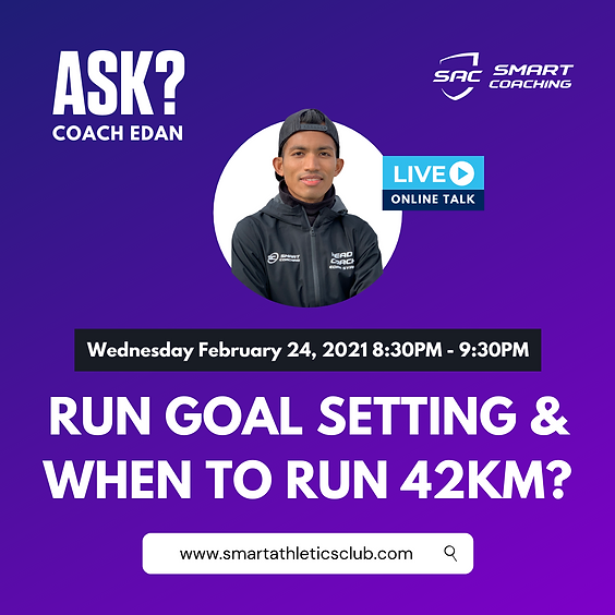 Run Goal Setting & When to Run 42KM?