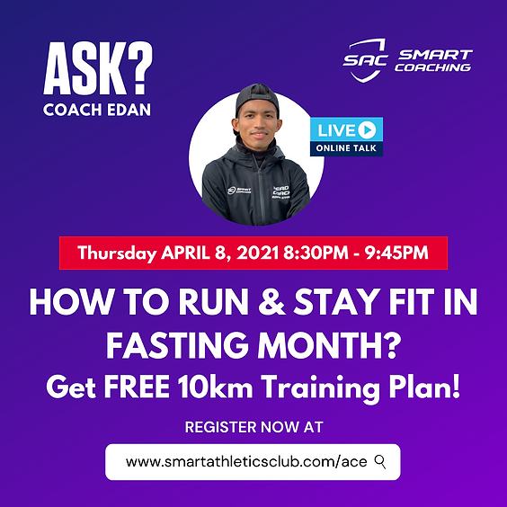 How to Run & Stay Fit in Fasting Month?