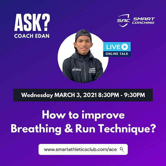 How to improve Breathing & Run Technique?