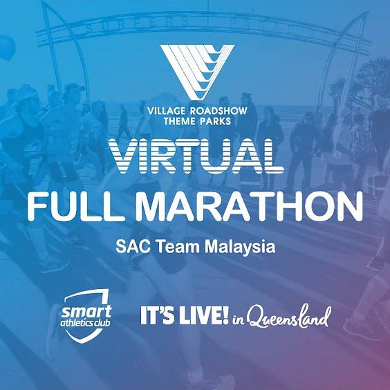FREE Full Marathon - Gold Coast Virtual Run (Sunday; July 26, 6AM)