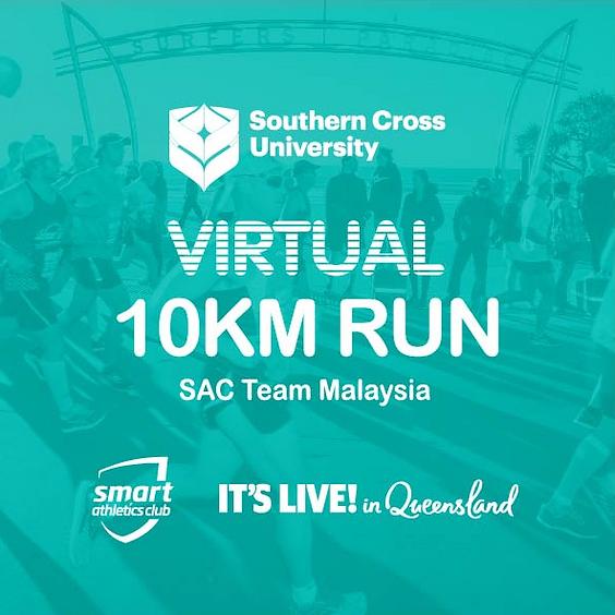 FREE 10KM - Gold Coast Virtual Run (Saturday; July 11, 6AM)