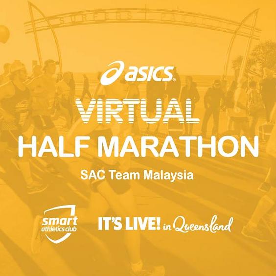 FREE Half Marathon - Gold Coast Virtual Run (Saturday; July 18, 7AM)
