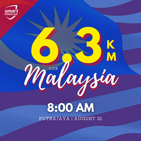 6.3KM For Malaysia (8:00AM Group)