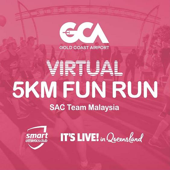 FREE 5KM - Gold Coast Virtual Run (Sunday; July 5, 7AM)