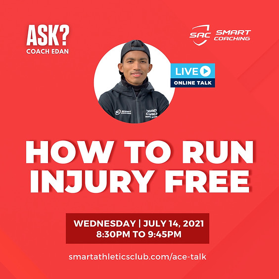 ACE TALK 2 : HOW TO RUN INJURY FREE
