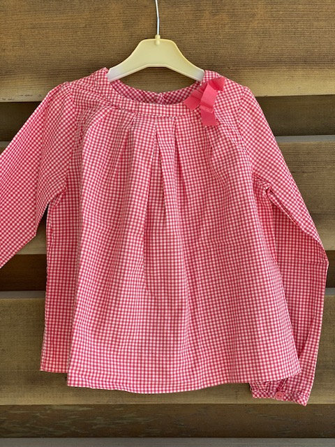 blouse vichy jacadi