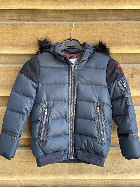 manteau IKKS avec petit defaut