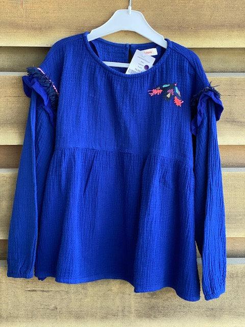 blouse bleue catimini